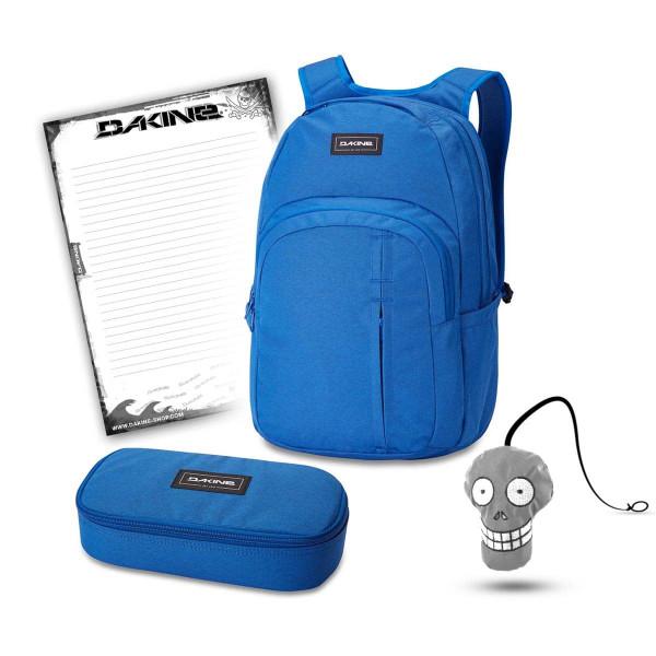 Dakine Campus Premium 28L + School Case XL + Harry + Block Schulset Cobalt Blue