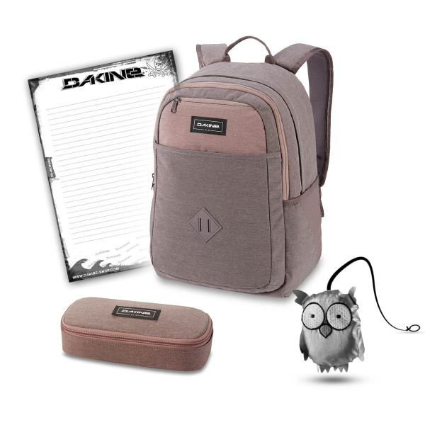 Dakine Essentials Pack 26L + School Case + Emma + Block Schulset Sparrow