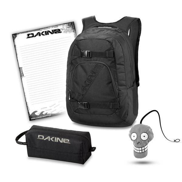Dakine Explorer 26L + Accessory Case + Harry + Block Schulset Black