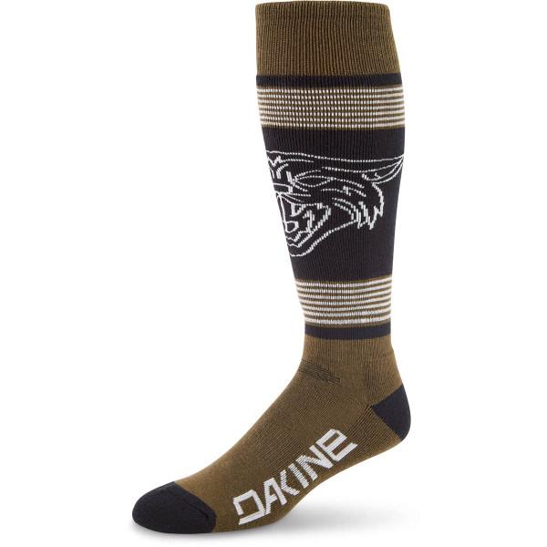 Dakine Mens Freeride Sock Herren Ski- / Snowboard Socken Dark Olive