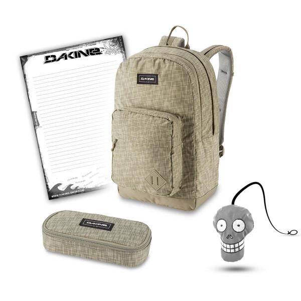 Dakine 365 Pack DLX 27L + School Case + Harry + Block Schulset Gravity Grey