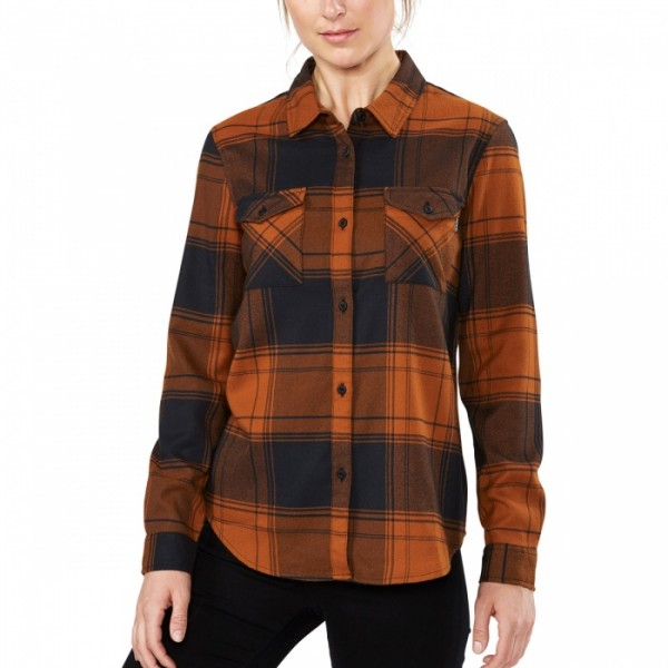 Dakine Noella Tech Flannel Damen Funktionshemd Ginger