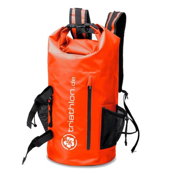 Triathlon Big Waterproof Backpack Red 32L