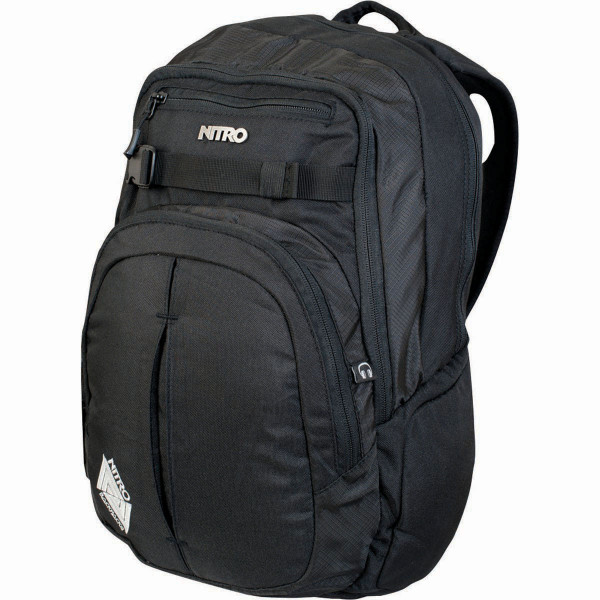 Nitro Chase 35L Rucksack mit Laptopfach True Black