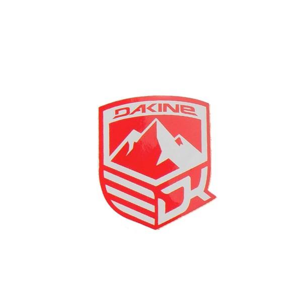 Dakine Mountain Aufkleber Red (9 x 10.5 cm)