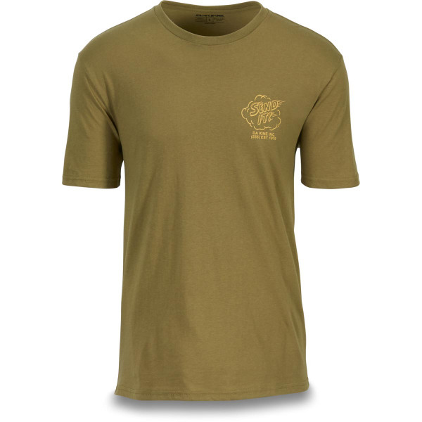 Dakine Send It T Shirt Herren Olive Drab