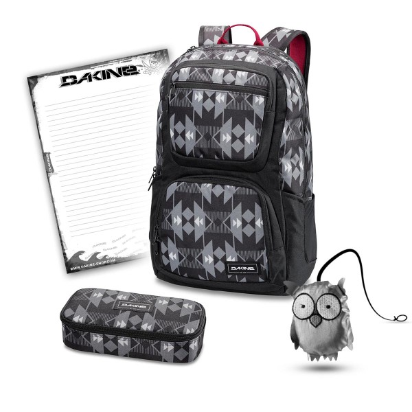 Dakine Jewel 26L + School Case + Emma + Block Schulset Fireside II