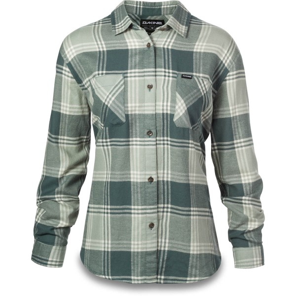 Dakine Ellis Lightweight Flannel Damen Hemd Balsam Green