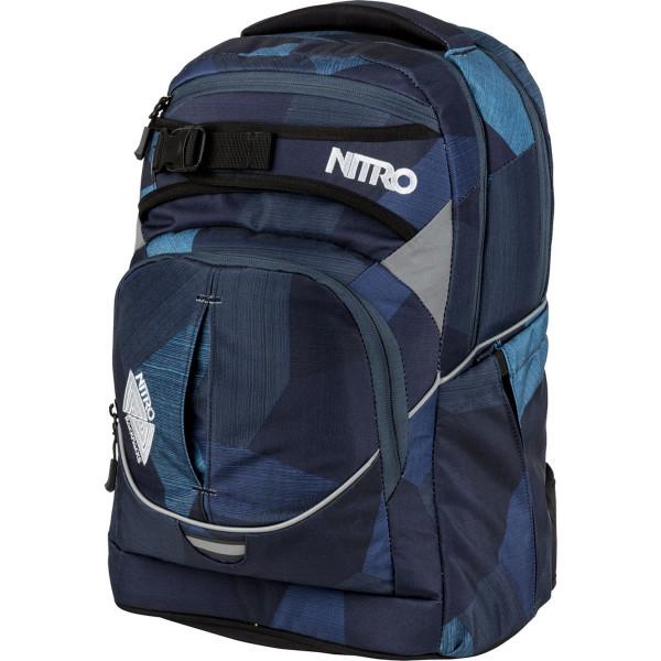 Nitro Superhero 30L Rucksack Fragments Blue