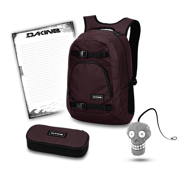 Dakine Explorer 26L + School Case + Harry + Block Schulset Taapuna