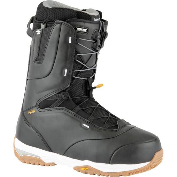 Nitro Venture Pro Tls Boot 21 Snowboard Boots Black-White-Gold