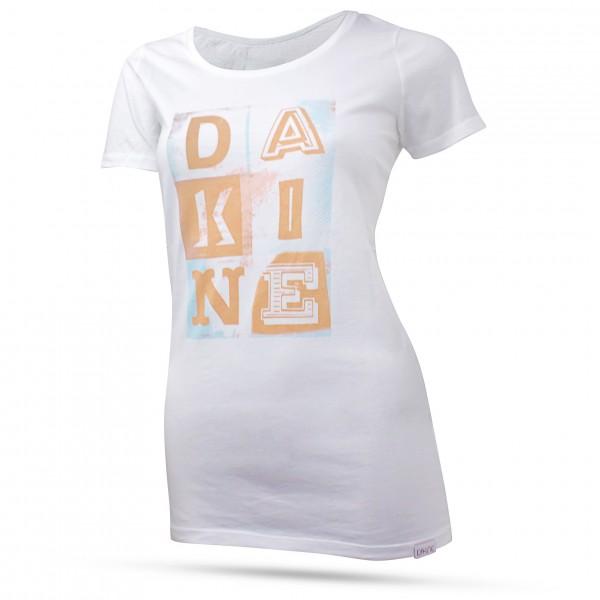 Dakine Womens Letter Icons T-Shirt Orange