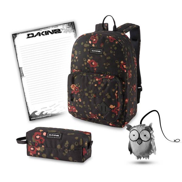 Dakine 365 Pack 30L + Accessory Case + Emma + Block Schulset Begonia