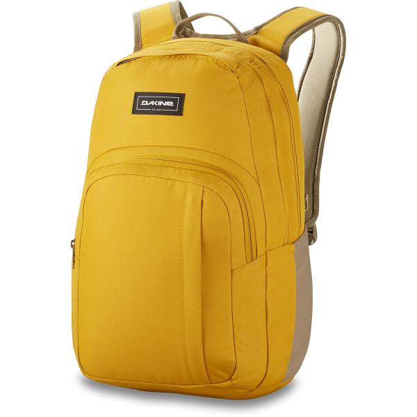 Campus M 25L Rucksack mit Laptopfach Mustard Moss