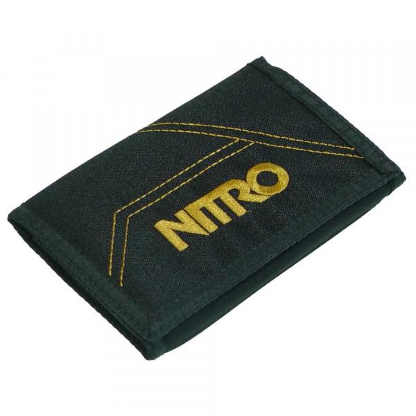 Nitro Wallet Geldbeutel Golden Black