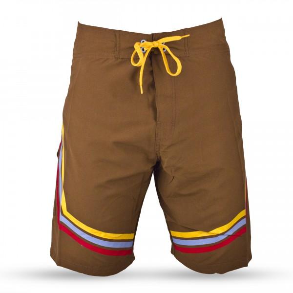 Dakine Stripes Short Brown
