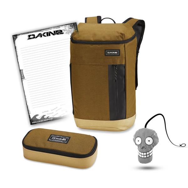Dakine Concourse 25L + School Case XL + Harry Block Schulset Tamarindo