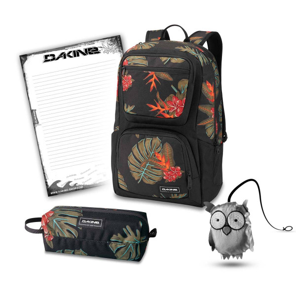 Dakine Jewel 26L + Accessory Case + Emma + Block Schulset Jungle Palm