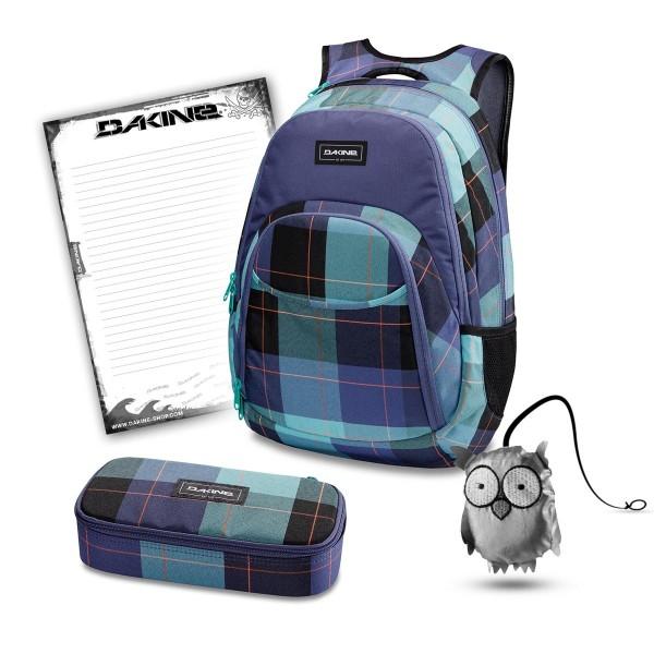 Dakine Eve 28L + School Case XL + Emma + Block Schulset Aquamarine
