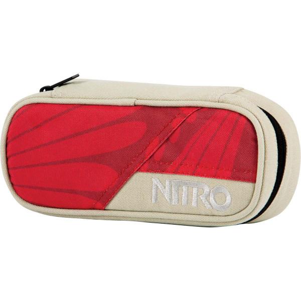 Nitro Pencil Case Federmäppchen Sunset Feather