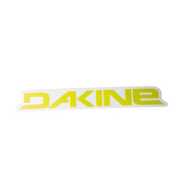 Dakine Rail Logo 12'' Plotted Aufkleber Yellow (31.5 x 3.5 cm)