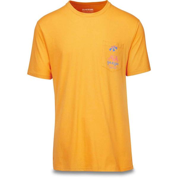 Dakine Kau Kau Pocket Herren T-Shirt Golden Glow