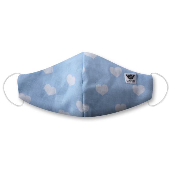 Dakine Shop Stoffmaske Blue Hearts HANG-LOOSE