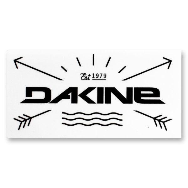 Dakine Established 1979 Sticker Aufkleber Black (10 x 5 cm)