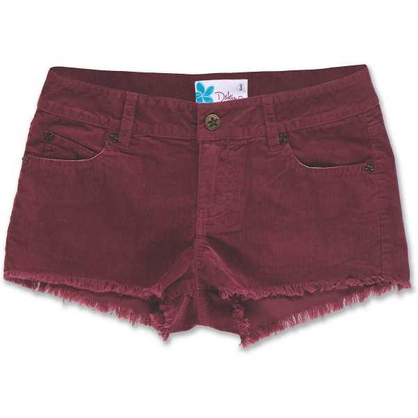Dakine Upcountry Cut-Off Short Dark Cherry