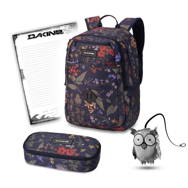Dakine Essentials Pack 26L + School Case XL + Emma + Block Schulset Botanics PET