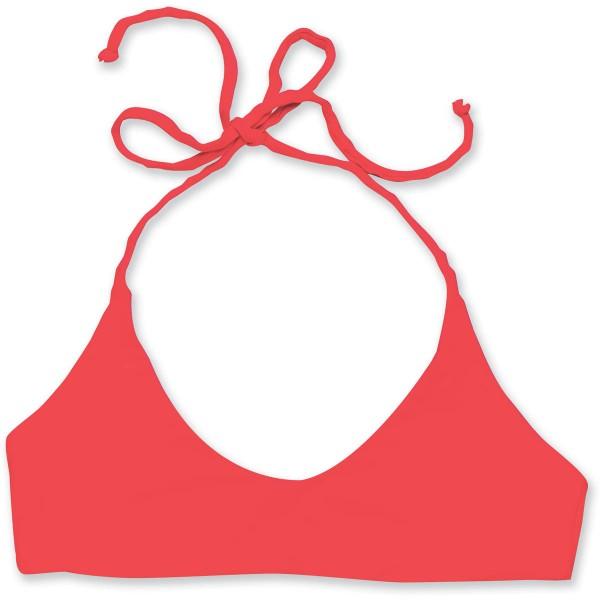 Dakine Leonani Surf Top Bikini Top Hibiscus Red