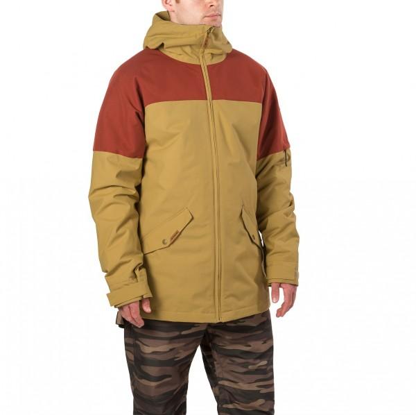 Dakine Denison Jacket Herren Ski- / Snowboard Jacke Fennel / Russet