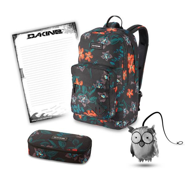 Dakine 365 Pack DLX 27L + School Case + Emma + Block Schulset Twilight Floral