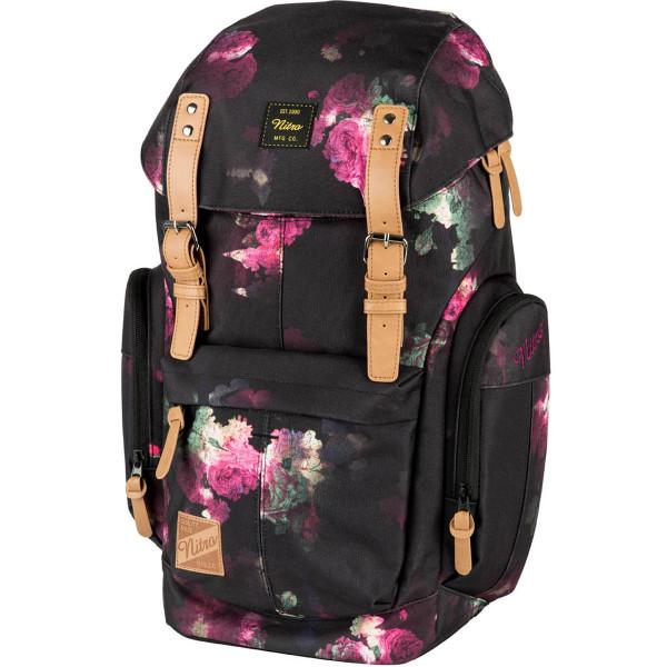 Nitro Daypacker 32L Rucksack mit Laptopfach Black Rose
