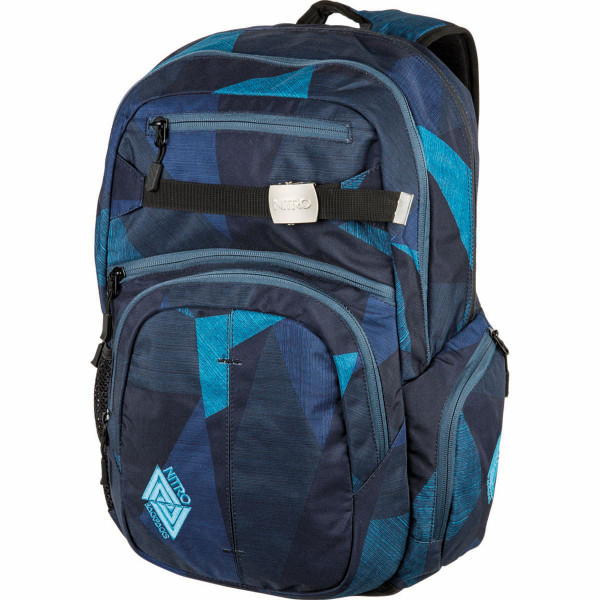 Nitro Hero 37L Rucksack mit Laptopfach Fragments Blue
