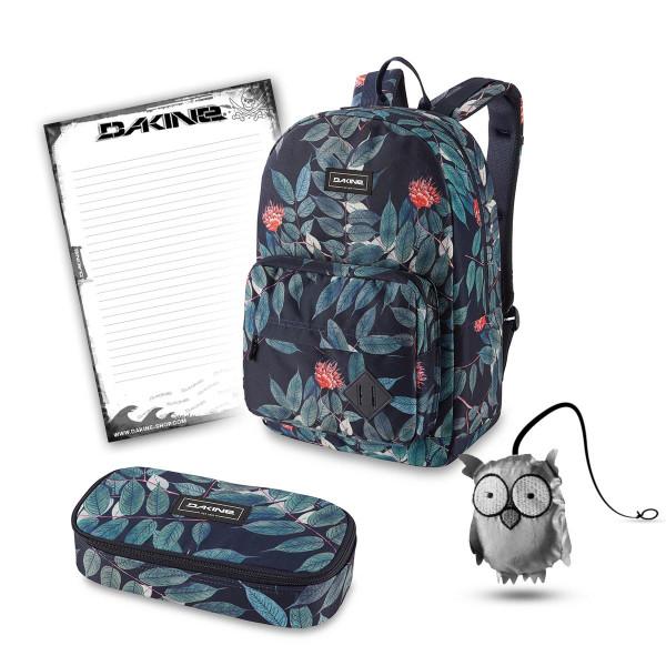 Dakine 365 Pack 30L + School Case XL + Emma + Block Schulset Eucalyptus Floral
