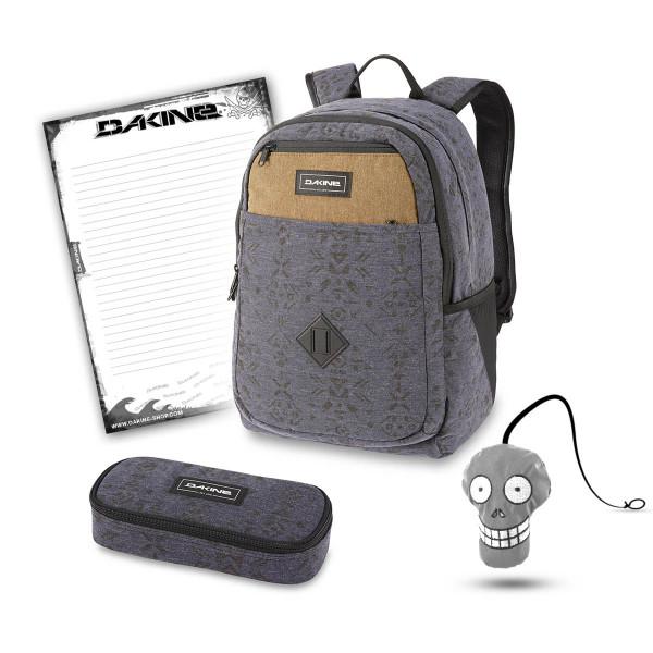 Dakine Essentials Pack 26L + School Case + Harry + Block Schulset Night Sky Geo