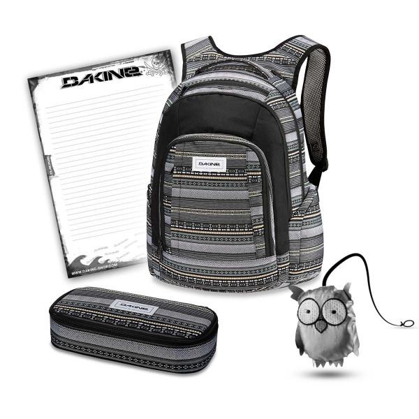Dakine Frankie 26L + School Case XL + Emma + Block Schulset Zion