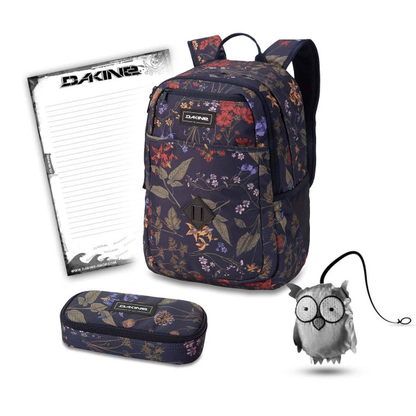 Dakine Essentials Pack 26L + School Case + Emma + Block Schulset Botanics PET