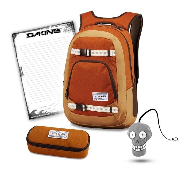 Dakine Explorer 26L + School Case + Harry + Block Schulset Copper