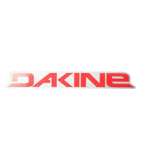 Dakine Rail Logo 8'' Aufkleber Red (20 x 3 cm)
