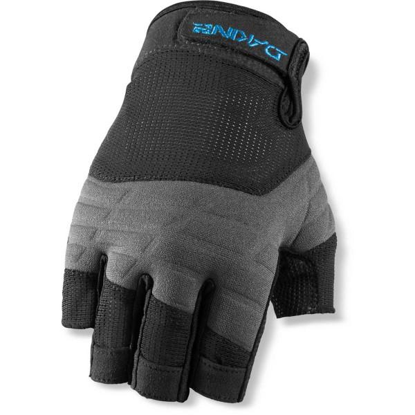 Dakine Half Finger Sailing Gloves Windsurf / Kite Handschuhe Black