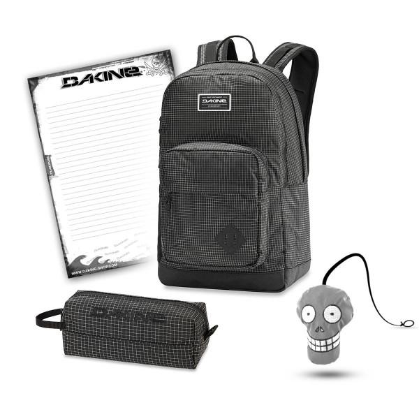 Dakine 365 Pack DLX 27L + Accessory Case + Harry + Block Schulset Rincon