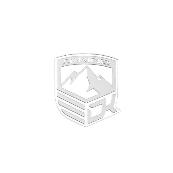 Dakine Mountain Aufkleber White (9 x 10.5 cm)