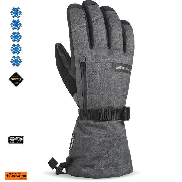 Dakine Titan Gore-Tex Glove Ski- / Snowboard Handschuhe mit Innenhandschuh Carbon