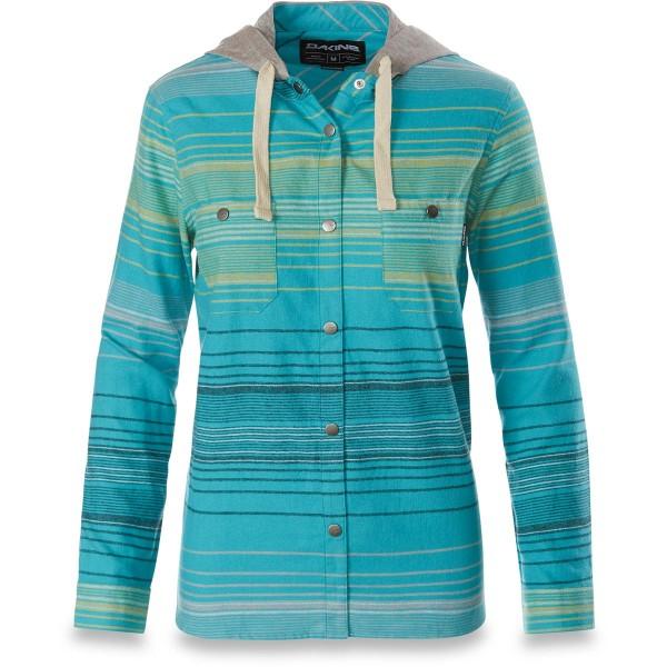 Dakine Brighton Flannel Damen Hemd Sea Blue