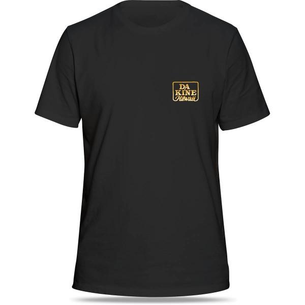 Dakine Classic Brush T-Shirt Herren T-Shirt Black / Yellow