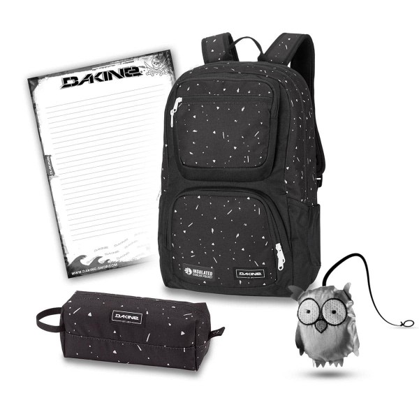 Dakine Jewel 26L + Accessory Case + Emma + Block Schulset Thunderdot