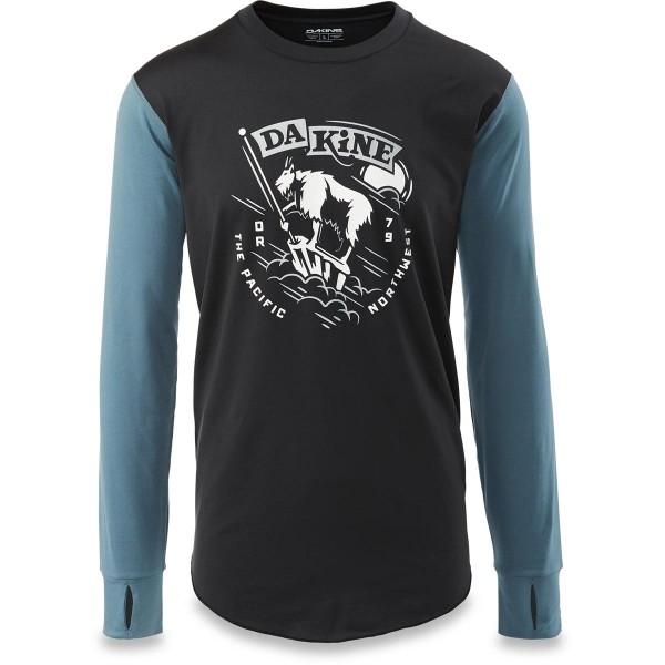 Dakine Kickback Lightweight Top Herren Funktionsshirt Black / Dark Slate