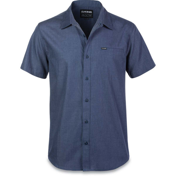 Dakine Kain S/S Woven Herren Hemd Washed Indigo
